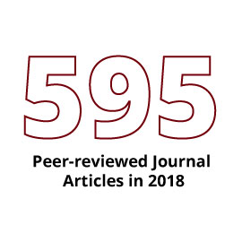Infographic: 549 peer-reviewed journal articles in 2015
