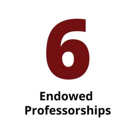 Infographic: 6 endowed professorships